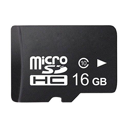 Tarjeta de memoria - TOOGOO(R) Alta velocidad 16GB Micro SD Tarjeta de memoria Micro SD Micro SD HC Clase 10 (Marca Real)