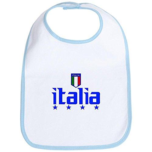 CafePress - Italia 4 Star Italian Soccer Bib - Cute Cloth Baby Bib, Toddler Bib (Italian Baby Soccer compare prices)