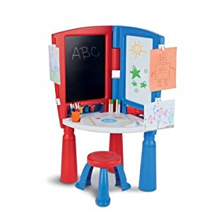 Little Tikes 2-in-1 Art Desk & Easel by Little Tikes