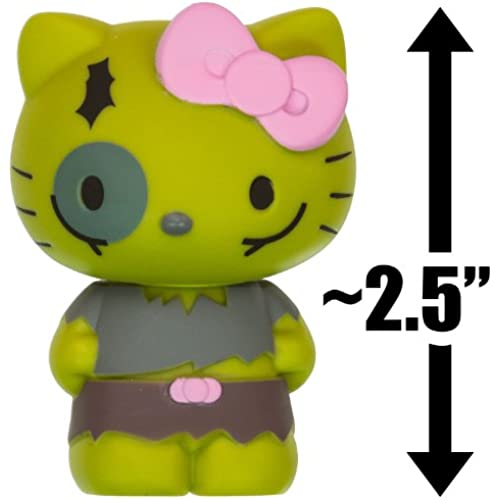 Green Zombie Hello Kitty: ~2.5' Halloween Hello Kitty x Funko Mystery Minis Vinyl Mini-Figure Series [VERY RARE] [병행수입품]