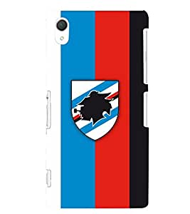 TOUCHNER (TN) Logo Flag Back Case Cover for Sony Xperia Z2::Sony Xperia Z2 L50W D6502 D6503