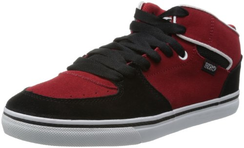 DVS Shoes Mens Torey High-Top DVF0000158 Black/Red 6 UK, 40 EU, 7 US