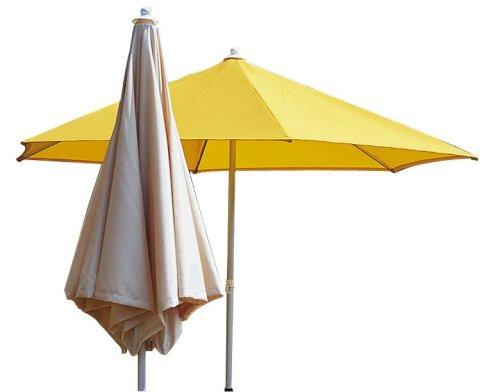 Sonntex Alu Sonnenschirm, 286cm Alu-Facetten-Gestell, Polyesterbezug natur, 6-tlg. bestellen