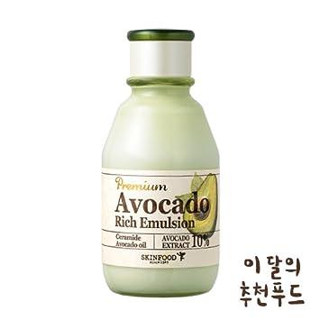 SKINFOOD Premium Avocado Rich Emulsion Питательная эмульсия с маслом авокадо 5 мл