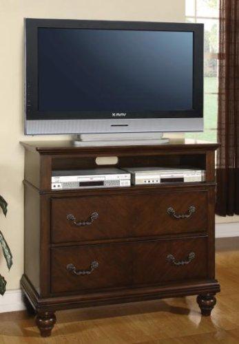 Sidney Media Chest With 2 Large Drawers And Spacious Opening By Coaster front-896636
