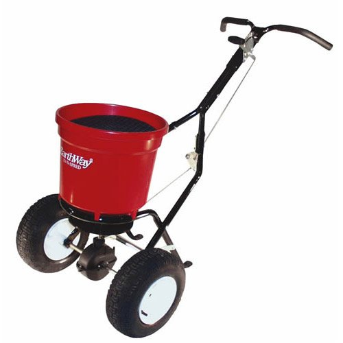 Lesco Salt Spreader : Zero budget for ride on so what is good large push