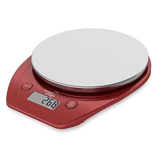 Smart weigh 11 lb 15 kg b scula electr nica multifuncional for Basculas digitales para cocina