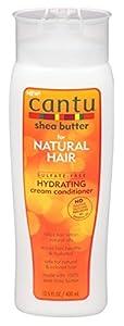 Cantu beurre karité Pour Cheveux Naturels Sans sulfates Hydratant Crème Après-shampooing 400ml
