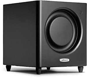 Polk Audio DSW MicroPRO 1000 Subwoofer Speaker (Single, Black)