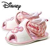 PK-ピンク 13.5 Disney ディズニー Minnie ミニー ベビー サンダル DS4133 ピンク 笛つき マジックテープ ダイマツ