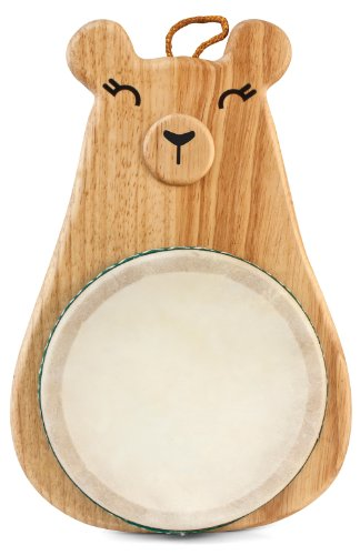 Green Tones / Award-Winning Momma Bear Drum with Mallet