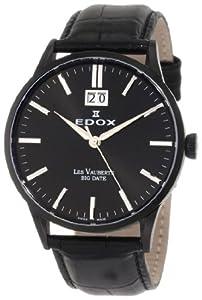 Edox Les Vauberts Mens Watch 63001 37N NIN