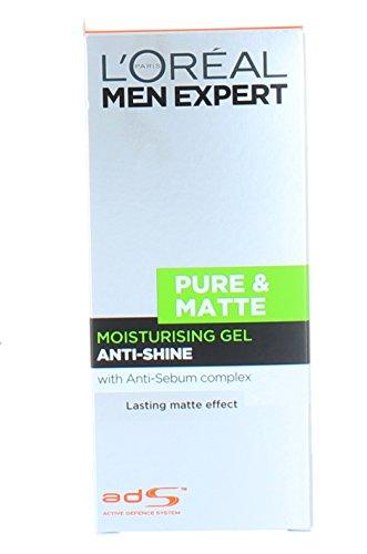 L Oréal Paris Men Expert Pure & Matte Anti-Regreasing Moisturising Gel (50ml)