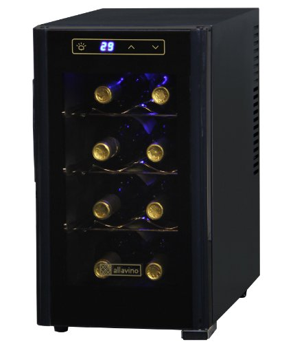 Purchase Allavino KWT-8BG Thermoelectric 8 Bottle Wine Refrigerator