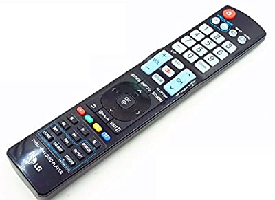 Brand New Replacement LG 3D TV Blue-ray Disc Player Remote Control AKB73615379