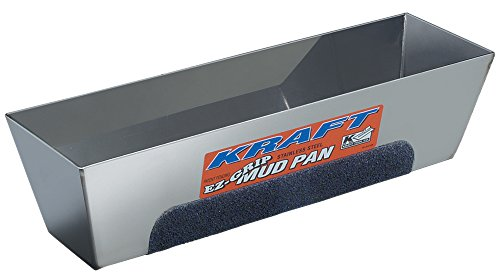 Kraft Tool DW724 EZ-Grip Mud Pan, 14-Inch x 3-Inch (Mud Pan compare prices)