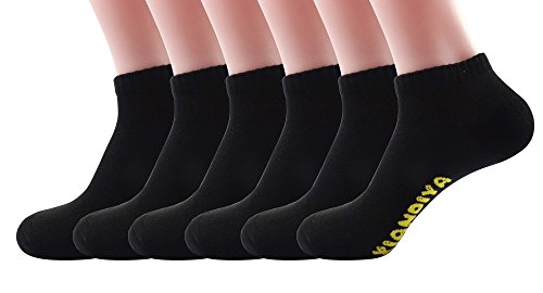 Silkworld Women'S Cotton Low Cut Candy Socks Pack Of 6 Black
