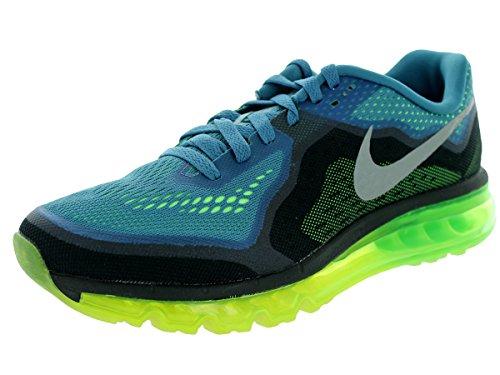 Blue Orange Black Shoes 621077 404 Mens Nike Air Max 2014