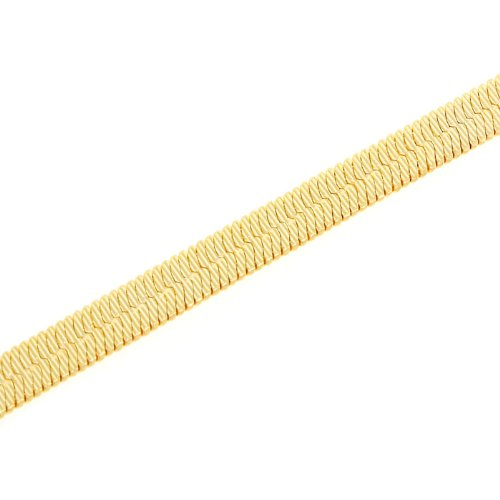 24.5inches, 622mm L x 6mm Wide 14 KT Yellow Gold Filled Chain Necklace 20.2 G