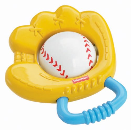Fisher Price Discover N' Grow Rattle Baseball Glove