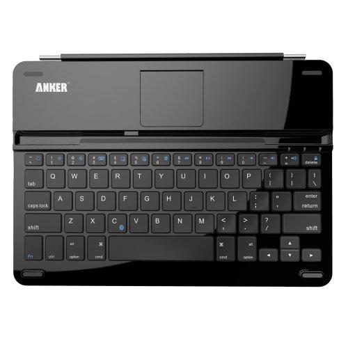 Anker iPad Air キーボードカバー ウルトラスリムデザイン 大容量リチウムバッテリー内蔵 スタンド機能付き【18ヶ月保証】