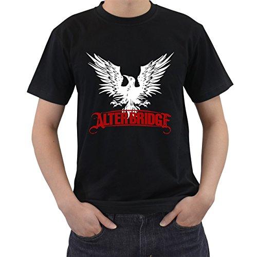 Alter Bridge Rock Band Logo T-Shirt Short Sleeve By Saink Black Size 2XL