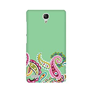 Xiaomi Redmi Note 2 Perfect fit Matte finishing Motif Graffiti & Illustrations Mobile Backcover designed by Abaci(Green)