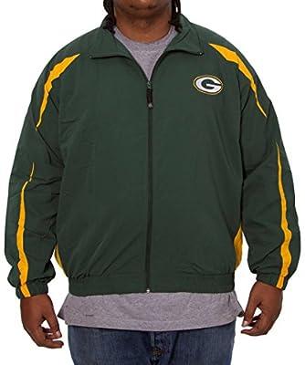 Green Bay Packers zip up microfiber jacket