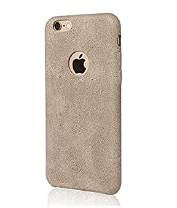 MVE(TM) USAMS BOB Series for Apple iPhone 6 PLUS (5.5) LIGHT BROWN Soft PU Leather Back Case Cover