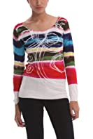 Desigual - Pull - Manches longues - Femme