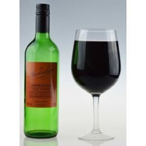 Extra Large Giant Wine Glass, Holds a Whole Bottle of Wine, the Big Betty Premium Jumbo Wine Glass
