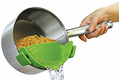 Kitchen Gizmo SNAP'N STRAIN strainer