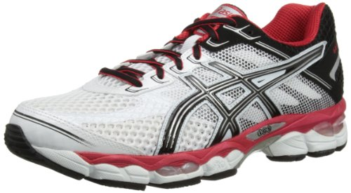 Asics Mens Gel-Cumulus 15 Low-Top T3C0N White 13 UK, 49 EU