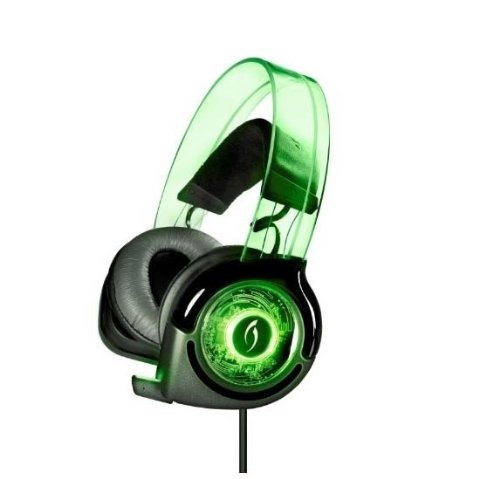 Pdp Afterglow Wired Universal Headset For Ps3 Wii Xbox 360 W/Mic - Green