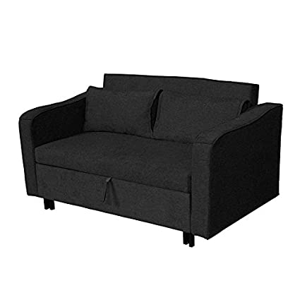 Canapé-lit noir