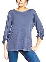 BANDIDA Camiseta Manga Larga (Azul)