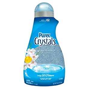 Purex Complete Crystals Fabric Softner, Fresh Spring Waters, 55 Ounce $9