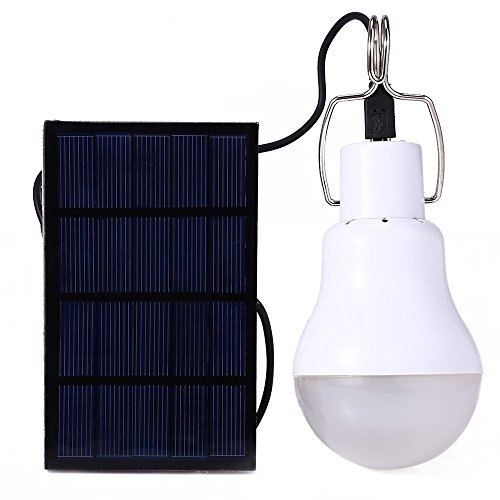 Portable Bulb Outdoor & Indoor 15w Solar Powered Led Lighting System Solar Panel Lamp Hot No Electricity Required Powered By Sunlight During Daytime (Solar Powered Portable Cooler compare prices)