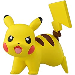 Muñeco Pikachu Pocket Monsters Postura de batalla