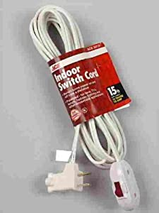 Ace Remote Switch Extension Cord (1PC-002-015FWH)