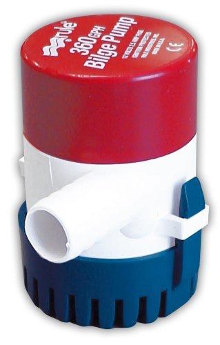 Rule 24 Marine Rule 360 Marine Bilge Pump (360-GPH, 12-Volt)