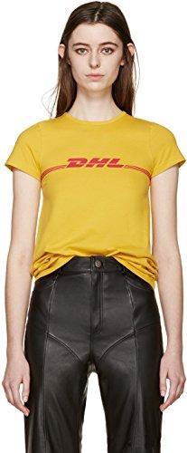 Zando -  Magliette a maniche corte  - Donna Yellow M/Donna M/Uomo S