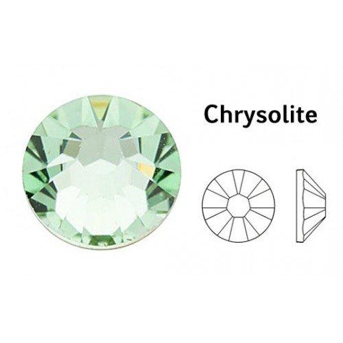 Swarovski Crystal Chrysolite (238) con pietre, misura S, confezione da 2, 3,8 mm Ss16 46 nella confezione)