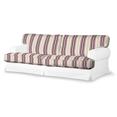 4-tlg. Sofa-Bezug-Set Mirella Farbe: Pink / Beige