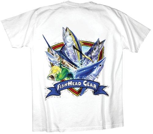 Fishhead gear offshore medley fishing t shirt buy baby boy for Offshore fishing apparel
