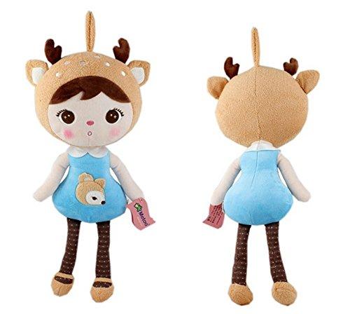 [50cm Hot sale New Genuine Metoo Cartoon Angela Plush Toys Cute Dolls Girl for Birthday Christmas Children Gifts] (Johnny Depp Wolf Costume)
