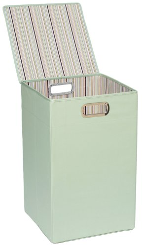 Jj Cole Hamper, Green Stripe