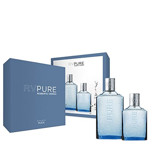 Jesus Del Pozo RV Pure Man Icy Eau De Toilette Spray 150ml Set 2 Parti