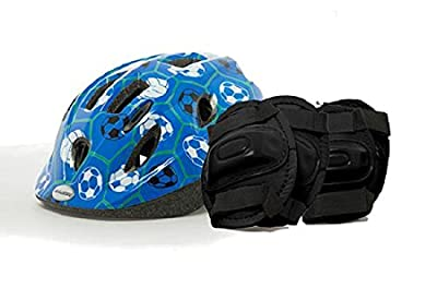 Little Terra Boys Pack Helmet and Pads 54-56 by Raleigh