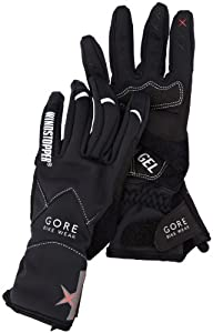 Gore Bike Wear Women's Alp-X 2.0 Soft Shell Windstopper   Lady Gloves, Black, XX-Small